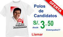 Polos para Campañas Políticas