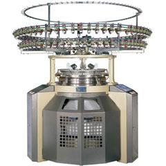Máquina tejedora de telas de punto